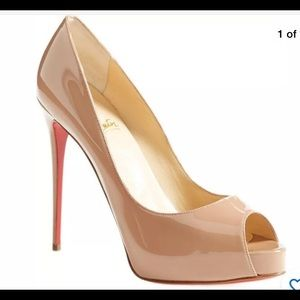 Christian Louboutin Pep Patient Red Sole Pump